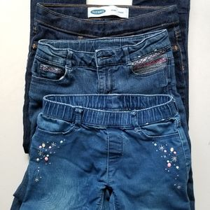 Girls Jeans Lot Sizes 7 & 8